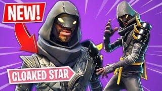 "New NINJA ""Cloaked Star"" Skin!! *Pro Fortnite Player* // 1,490 Wins (Fortnite Ninja Skin Gameplay)"