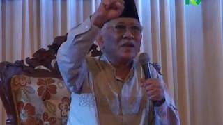 KH Mustofa Bisri ; 04/2017 ; Kisah Gus Mus tentang kebesaran Alloh ; Isro mi'roj di Bluru Sda
