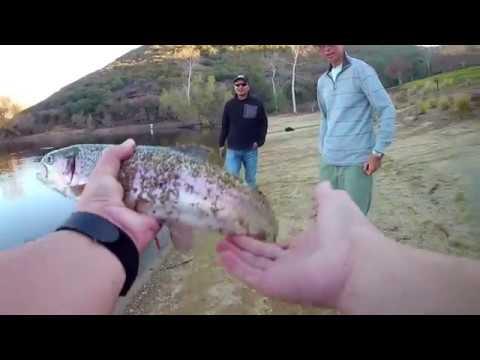 Trout Fishing Stocked Lake (sandiego)