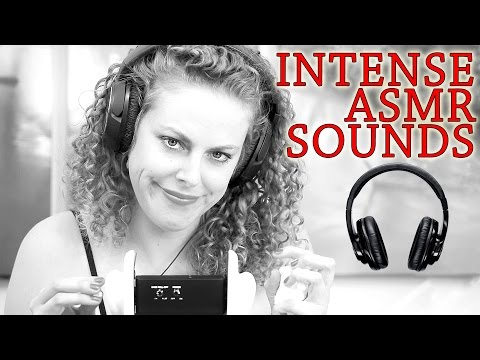 Intense Binaural ASMR Triggers Ear To Ear No Talking - Ear Cleaning 3Dio Free Space Pro