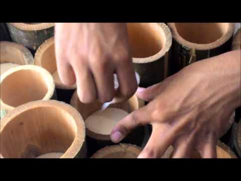 HOW TO MAKE ACOUSTIC DIFFUSER PANEL FROM BAMBOO-UIN ALAUDDIN MAKASSAR