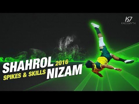 Sepak Takraw ● Shahrol Nizam Romli ● Spikes & Skills | 2016 | HD
