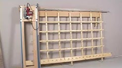 Build Your Own Sliding Carriage Panel Saw