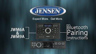 JENSEN® | JWM6A and JWM9A Bluetooth® Pairing