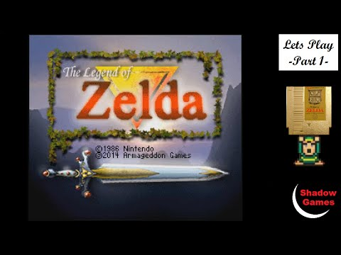 "Legend of Zelda 1 ""Remake"" - 1 [Let's Play]"