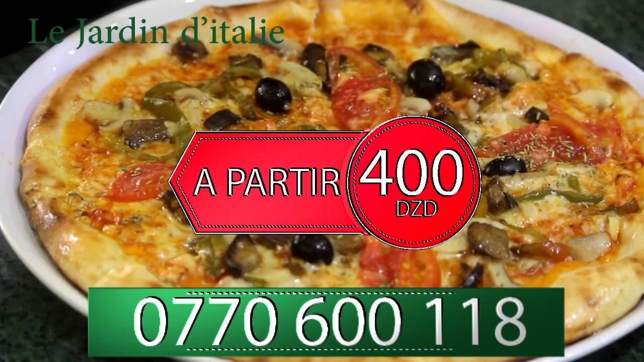 Le Jardin D'Italie pizzeria by ME pub agency - YouTube