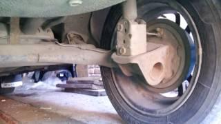 Замена задней Балки Автомобиля ВАЗ 2110 на Приоровскую