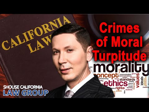 """What is a """"crime of moral turpitude""""? (Former DA explains)"""
