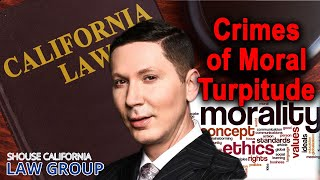 """Gambar cover What is a """"crime of moral turpitude""""? (Former DA explains)"""