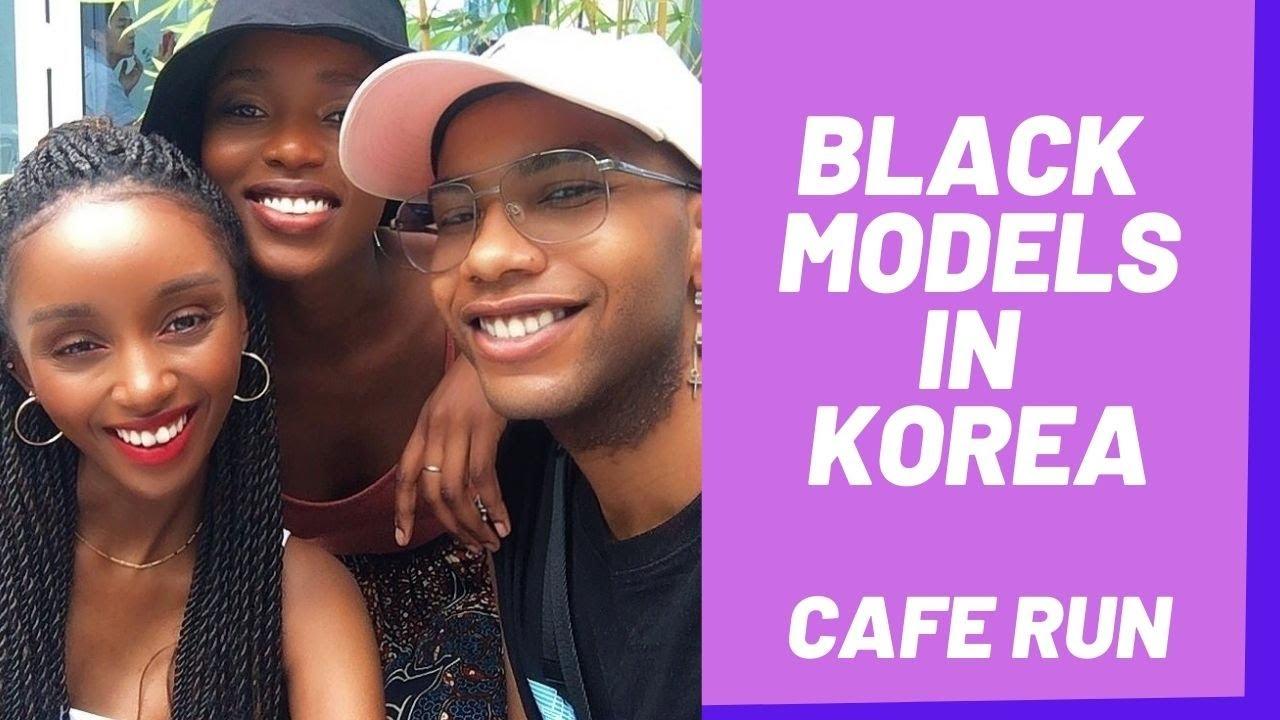 (Travel with Me)흑인 모델 ▫  BLACK MODELS in KOREA ▫  Black surely is beautiful