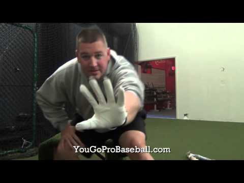 Catcher's Thumb Guard Glove with Finger Pads