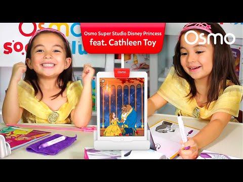 Cathleen Toy Reviews plays Osmo Super Studio Disney Princess