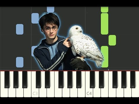 """SUPER EASY piano tutorial """"HARRY POTTER THEME"""" with free sheet music thumbnail"""