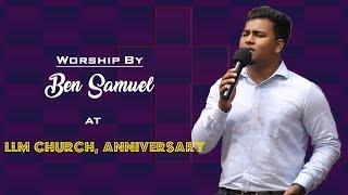 Bro.Ben Samuel Worship at LLM Church Anniversary Day 1