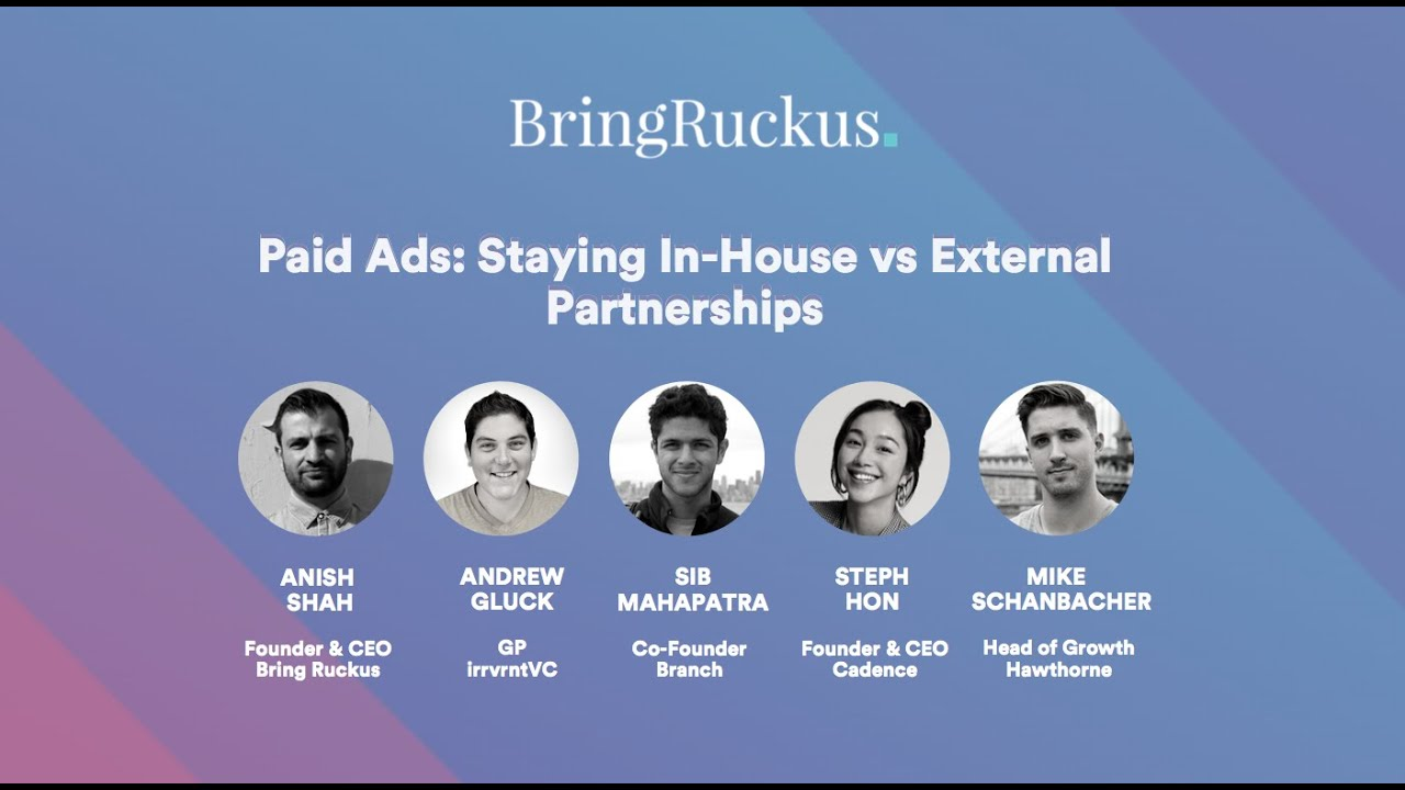 Paid Ads: Staying In-House vs External Partnerships
