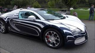 Bugatti Veyron Grand Sport L'Or Blanc 2011 Videos