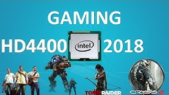 INTEL HD 4400 - Gaming Performance in 2018(I3 4130)