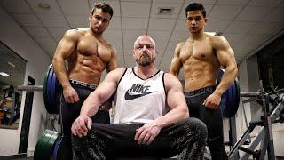 68kg Physique vs 78kg Powerbuilder - Bankdrücken