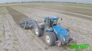 FIRST NEW HOLLAND T9.565 in Italy - LEMKEN Karat 9 | Agri957