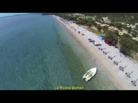 La Riviera barbati Seaside Luxurious Apartments Aerial photo summer 2013