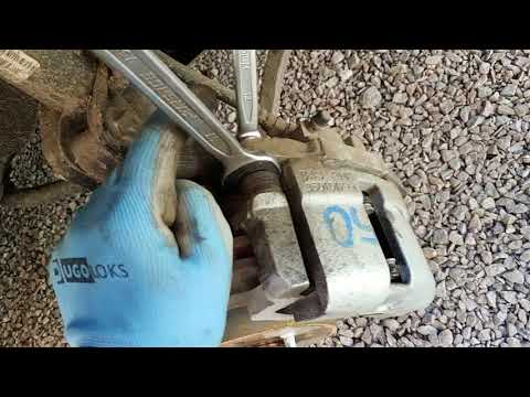 Замена передних тормозных дисков и колодок Лада Гранта\\Калина 2 Кросс
