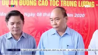 VTV.vn - Thủ tướng đã yêu cầu tỉnh Tiền Giang và chủ đầu tư Dự án TLMT