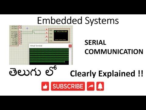 [ES-TE-27] 8051 Serial Communication -lession-27