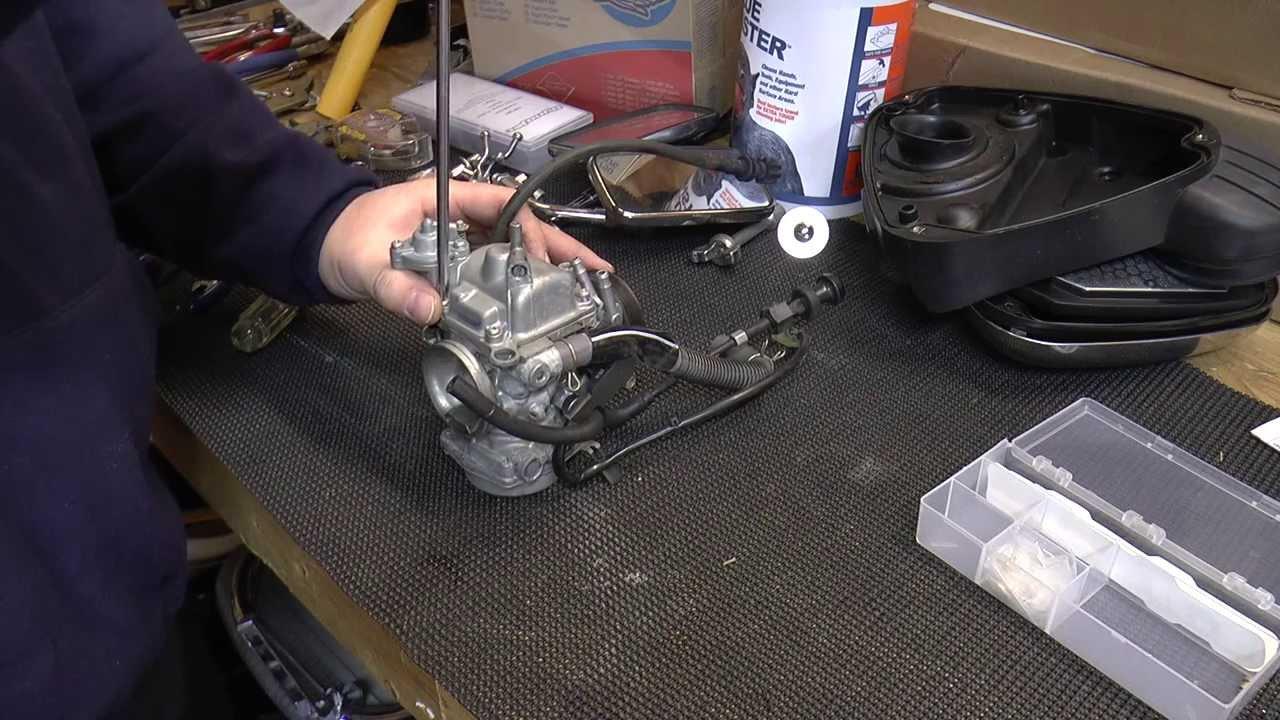 How to Jet Honda Shadow 600 Carburetor  YouTube