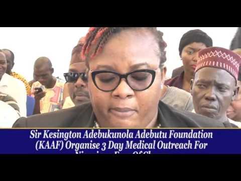 THE ASOJUOBA OF LAGOS SIR KESINGTON ADEBUKUNOLA ADEBUTU GIVES BACK TO THE SOCIETY AT 80