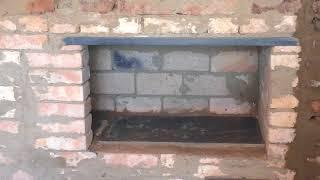 (134)Колпаковые печи в старом доме.