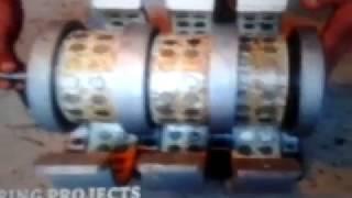 Electricité   gratuite   .  Montage   d' un  génerateur   Perendev