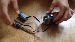 TUTO comment relier une batterie et un moteur LEGO