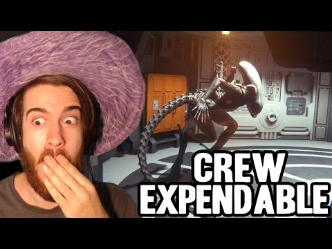 FANBOYING OUT! | Alien Isolation: Crew Expendable