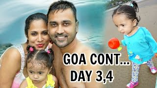 goa part 2   pool fort fun beach   a day in my life   shrutiarjunanand