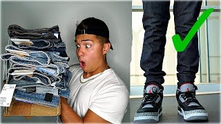 BEST JEANS FOR SNEAKERS HAUL (BACK TO SCHOOL 2018)