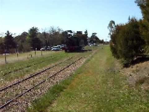 New South Wales Government Railways Loco Runs Round