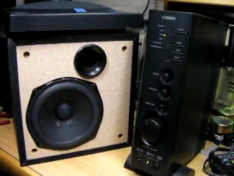 test yamaha tss 1 speaker unit woofer x2687a0 14cm bass i