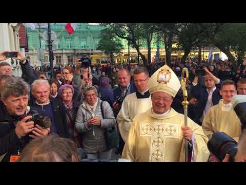 Abp Grzegorz Ryś - witany przez swoich diecezjan