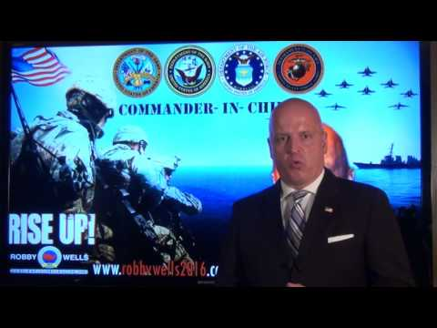 ROBBY WELLS ON COMMANDER IN CHIEF