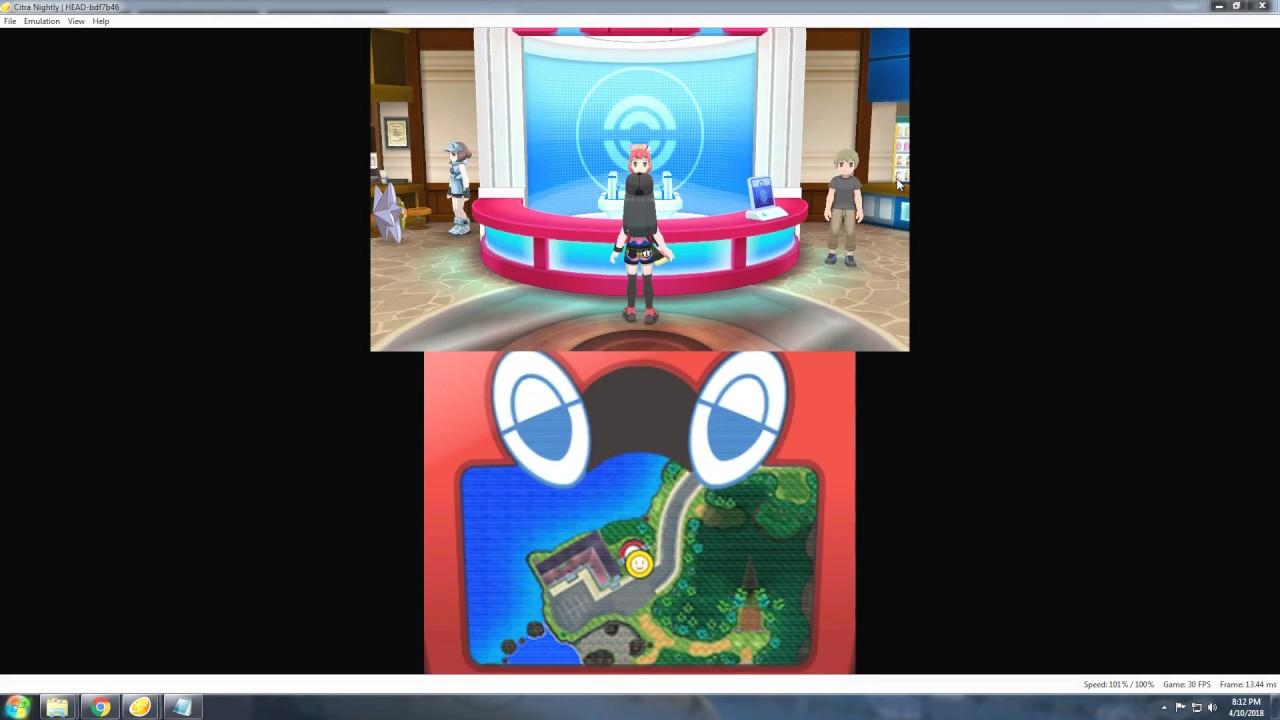 Early Game Mossy Rock - Lush Jungle - Pokemon Ultra Sun