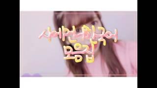 사에언니가 한국어 사용하는 영상입니다 잘 봐주세요!!
