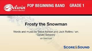 Frosty the Snowman, arr. Gerald Sebesky – Score & Sound
