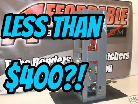 Cheapest Tube Bender on the Market | Is it any Good?