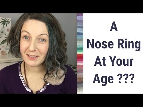 A Nose Ring At Your Age??? Why I Don't Believe in the Style Notion of Dressing For Age!