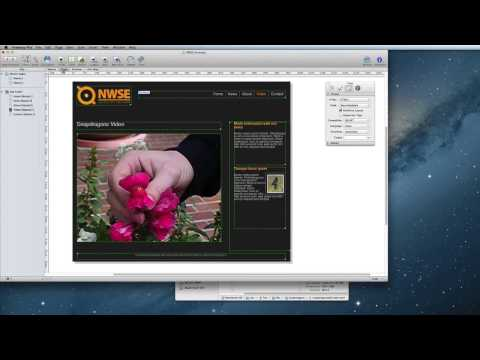 Adding HTML5 Video In Freeway 6