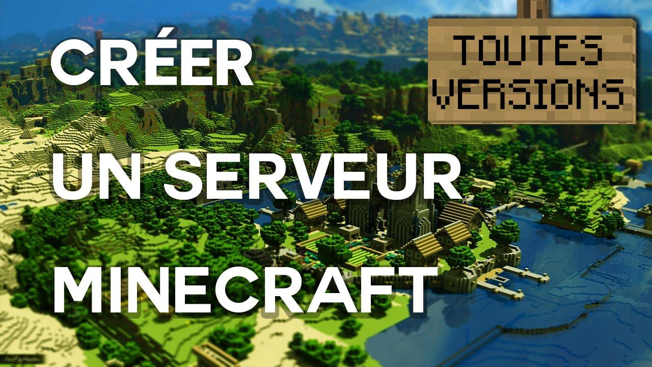 Comment cr er un serveur minecraft toutes versions tous os youtube - Comment creer un chateau dans minecraft ...