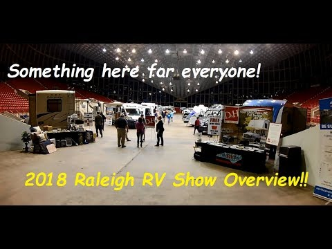 2018 Raleigh RV Show Tour