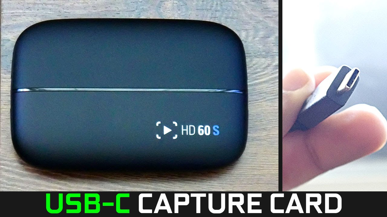 Elgato Hd60 S Review Usb C Gaming Capture Card Youtube