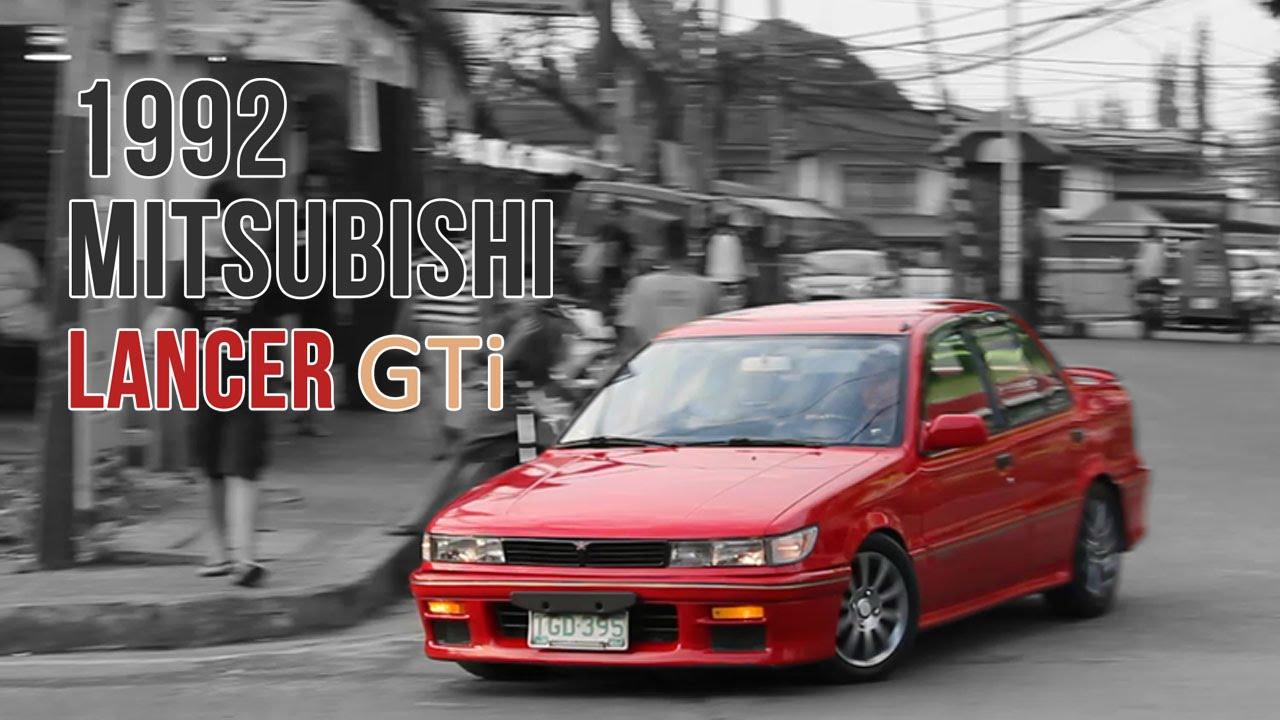 1992 mitsubishi lancer gti - youtube
