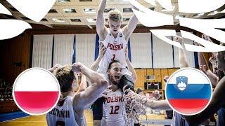 Poland v Slovenia - Full Game - Final - FIBA U20 European Championship Division B 2018